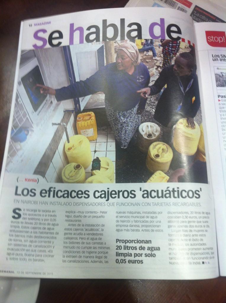 Fuente: El semanal  de 13/09/15, El País.
