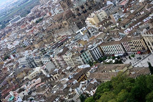 Granada , a texan in Spain